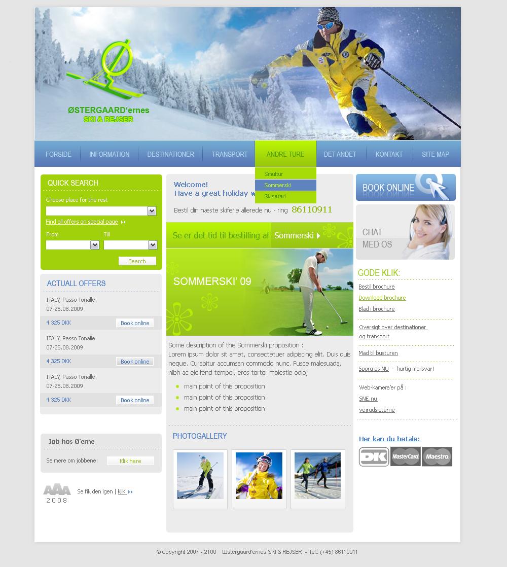 Travel agency website - Custom Software Development NY | Software