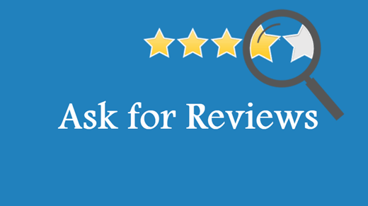 Ask for Google Reviews from any client you have